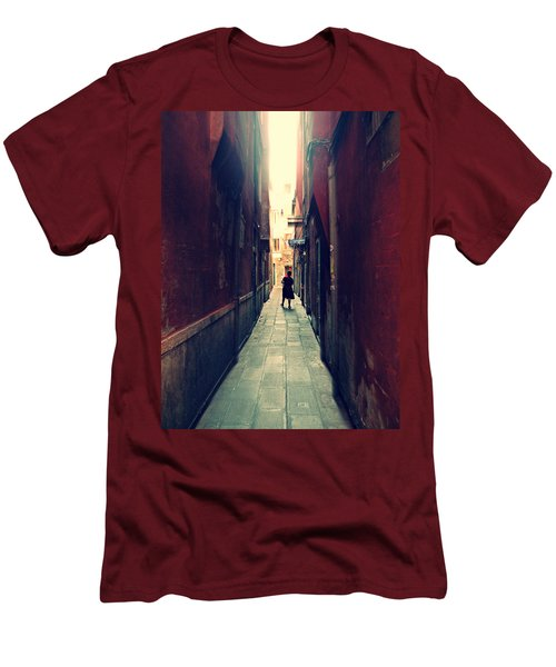 La Cameriera  Men's T-Shirt (Slim Fit) by Micki Findlay