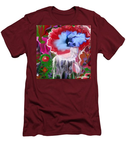 Living Water Men's T-Shirt (Slim Fit) by Loxi Sibley