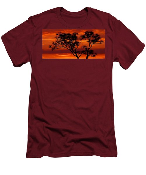 Long Leaf Pine Men's T-Shirt (Athletic Fit)