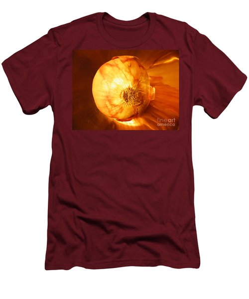 Meteoric Onion Men's T-Shirt (Slim Fit) by Brian Boyle