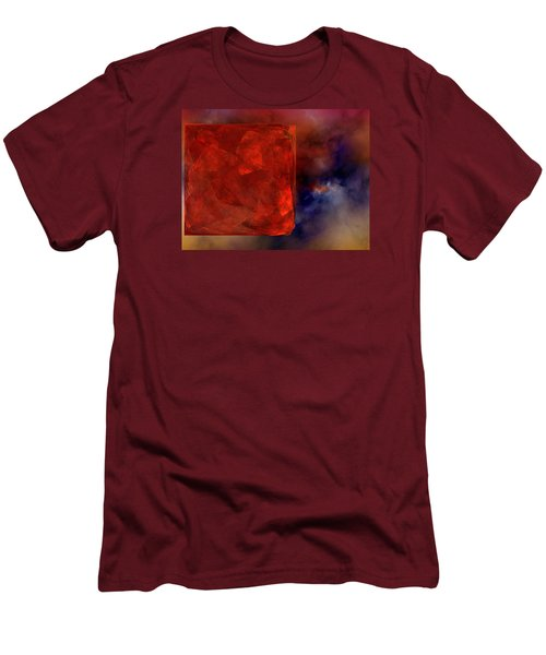 Men's T-Shirt (Slim Fit) featuring the digital art Obscure Blessings by Jeff Iverson