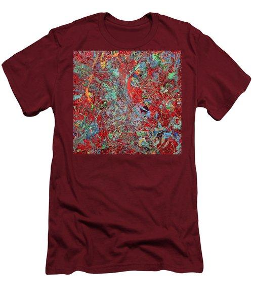 Paint Number Twenty Five Men's T-Shirt (Athletic Fit)