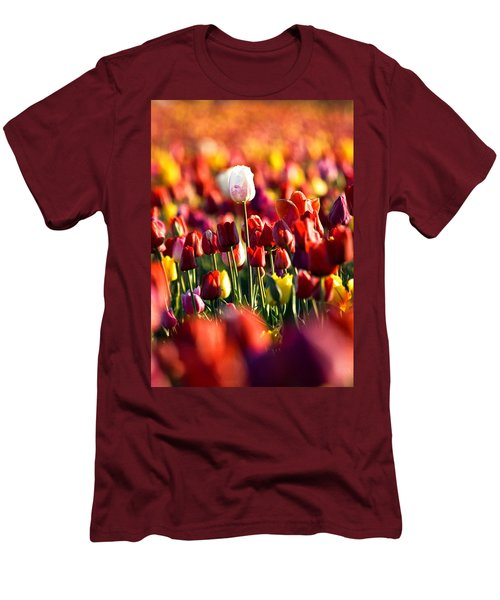Men's T-Shirt (Slim Fit) featuring the photograph Pick Me by Ronda Kimbrow
