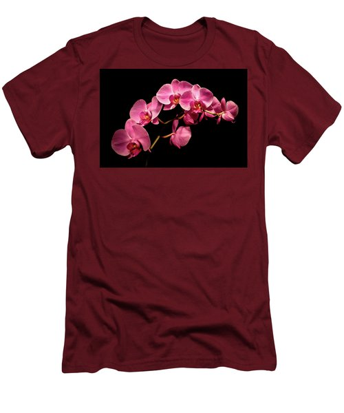 Pink Orchids 3 Men's T-Shirt (Athletic Fit)