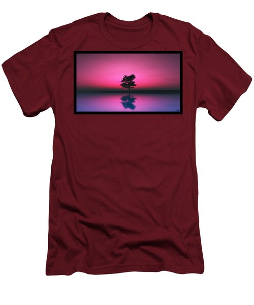 Purple Sky... Men's T-Shirt (Athletic Fit)