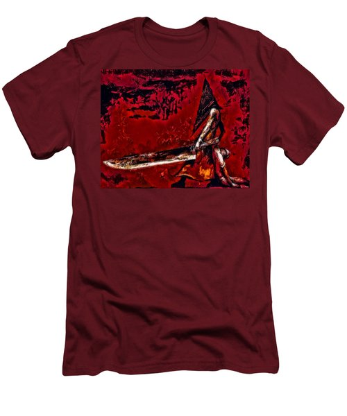 Pyramid Head Men's T-Shirt (Athletic Fit)