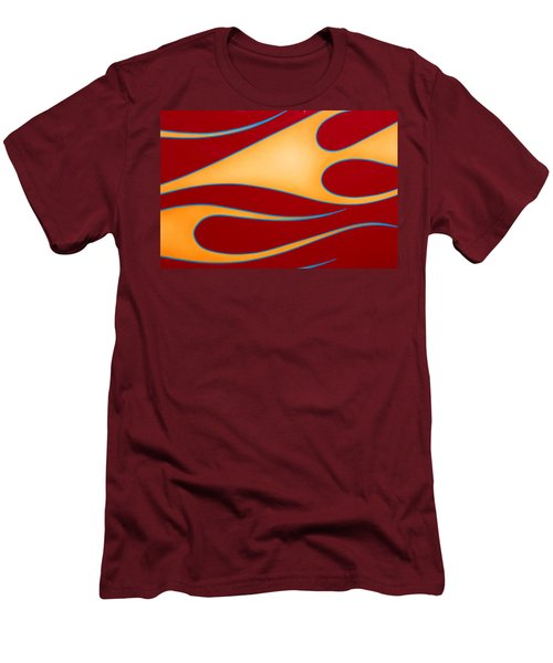 Men's T-Shirt (Slim Fit) featuring the photograph Red And Gold by Joe Kozlowski