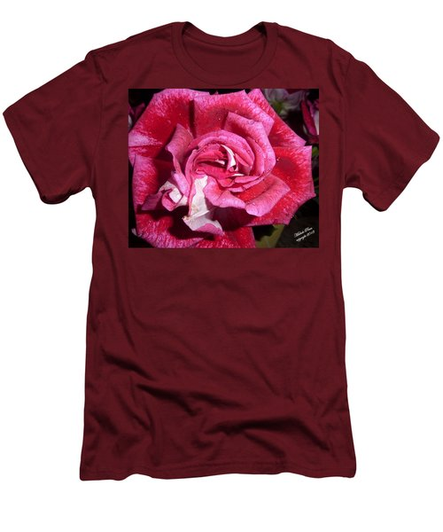 Red Beauty 2  Men's T-Shirt (Athletic Fit)