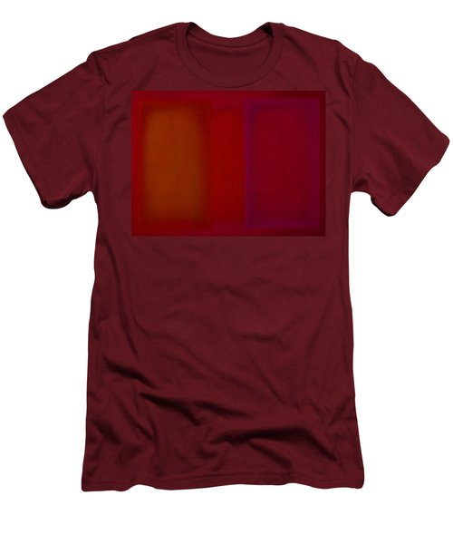 Red Men's T-Shirt (Athletic Fit)