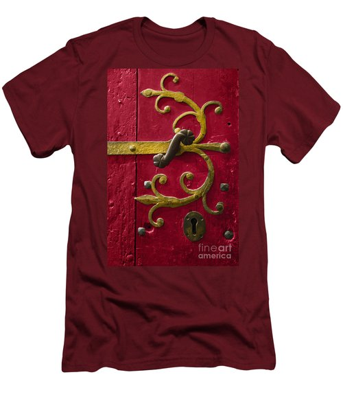 Red Entrance Men's T-Shirt (Athletic Fit)