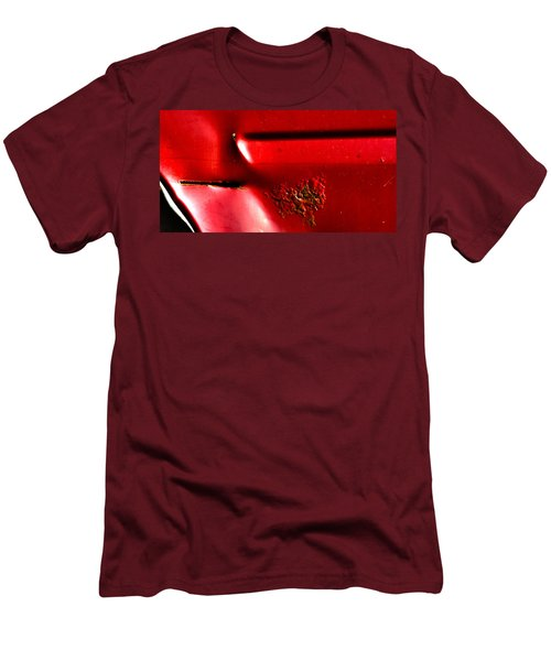 Red Gash Men's T-Shirt (Athletic Fit)
