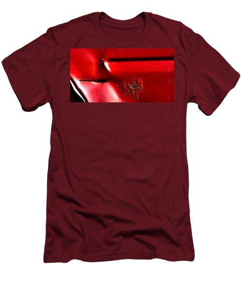 Red Gash Men's T-Shirt (Athletic Fit)