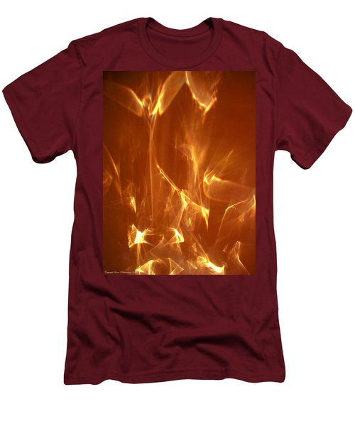 Men's T-Shirt (Slim Fit) featuring the photograph Reflected Angel by Leena Pekkalainen