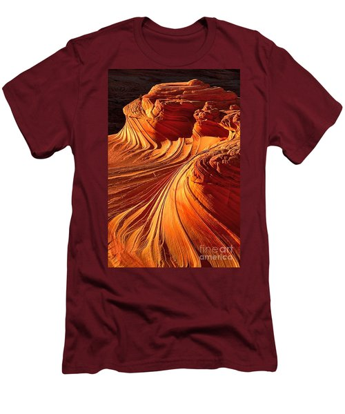 Sandstone Silhouette Men's T-Shirt (Athletic Fit)