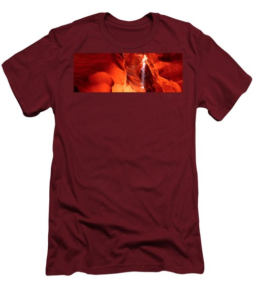 Shaft Of Sunlight In A Canyon, Antelope Men's T-Shirt (Athletic Fit)