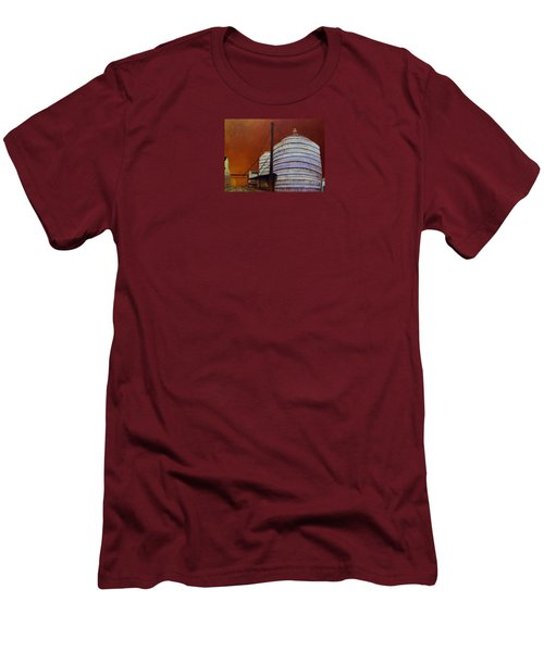 Silos With Sienna Sky Men's T-Shirt (Slim Fit) by Susan Williams