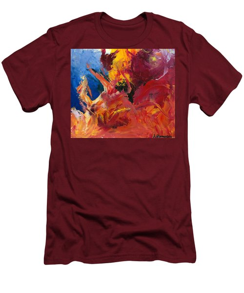 Small Passion 1 Men's T-Shirt (Athletic Fit)