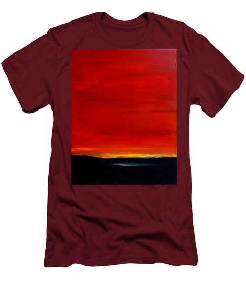 Southwest Desert Sunrise Men's T-Shirt (Athletic Fit)