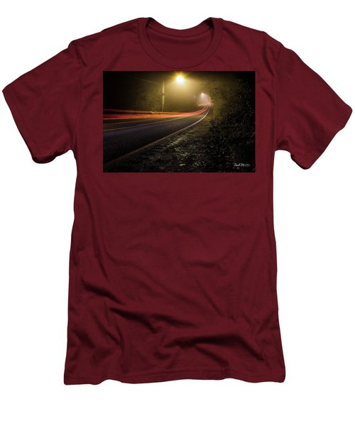 Suburbian Night Men's T-Shirt (Athletic Fit)