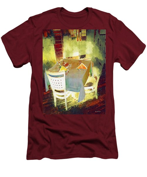 Table At The Fauve Cafe Men's T-Shirt (Athletic Fit)