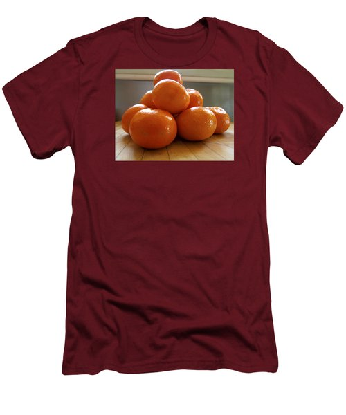 Men's T-Shirt (Slim Fit) featuring the photograph Tangerined by Joe Schofield