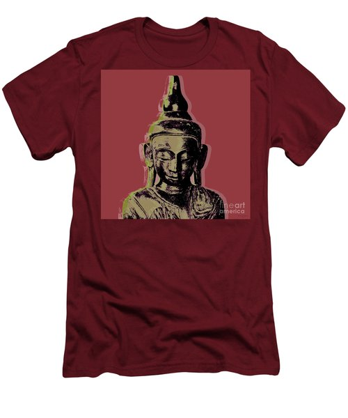 Thai Buddha #1 Men's T-Shirt (Slim Fit) by Jean luc Comperat
