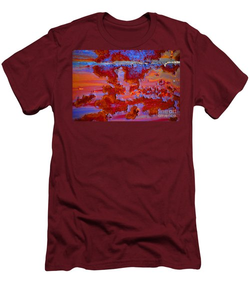 Men's T-Shirt (Slim Fit) featuring the photograph The Darkside #3 by Christiane Hellner-OBrien