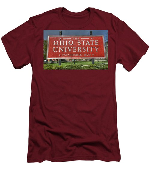 The Ohio State University Men's T-Shirt (Slim Fit) by David Bearden