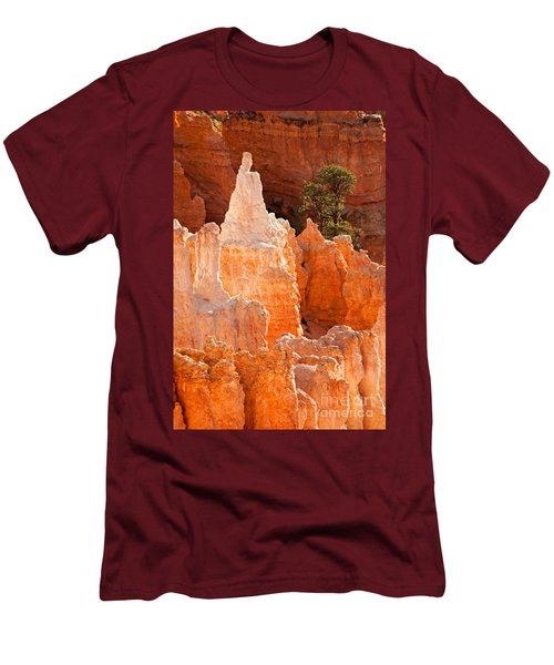 The Pope Sunrise Point Bryce Canyon National Park Men's T-Shirt (Athletic Fit)