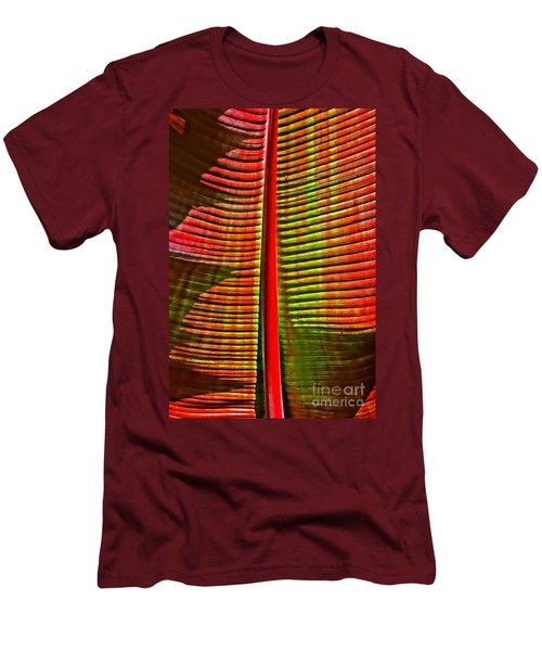 The Red Palm Men's T-Shirt (Athletic Fit)