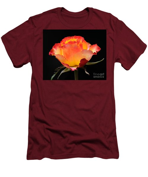 The Rose Men's T-Shirt (Slim Fit) by Vivian Christopher