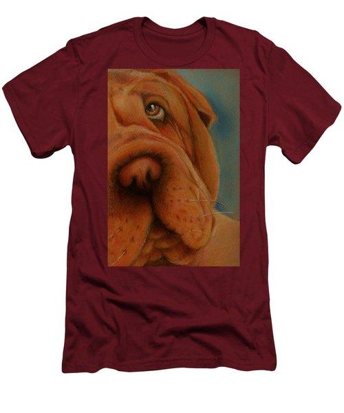 The Shar-pei  Men's T-Shirt (Slim Fit) by Jean Cormier