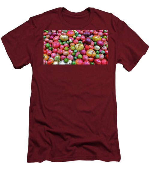 Tomatoes Men's T-Shirt (Slim Fit) by Bill Owen