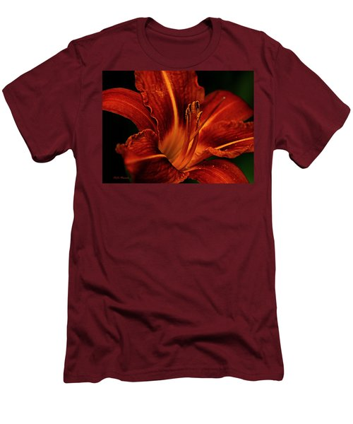 Up Close And Personal Men's T-Shirt (Slim Fit) by Jeanette C Landstrom