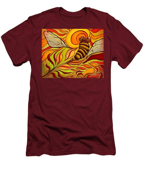 Wings Of Change Men's T-Shirt (Athletic Fit)