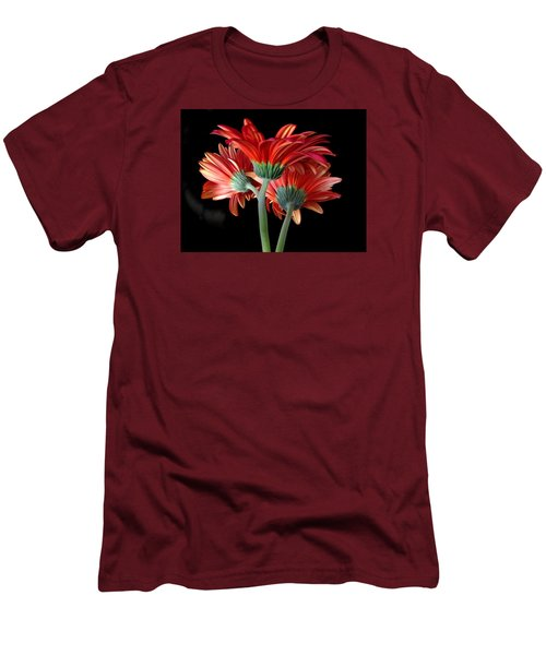 With Love Men's T-Shirt (Slim Fit) by Brenda Pressnall
