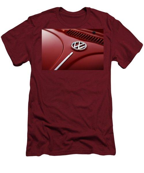 Men's T-Shirt (Slim Fit) featuring the photograph 1973 Volkswagen Beetle by Gordon Dean II