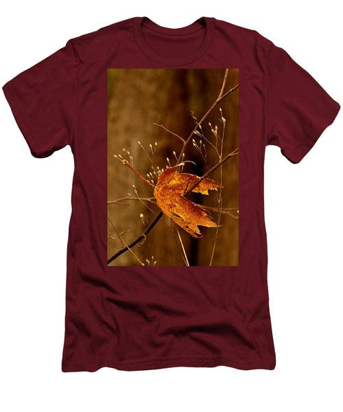 Lonely Leaf Men's T-Shirt (Athletic Fit)