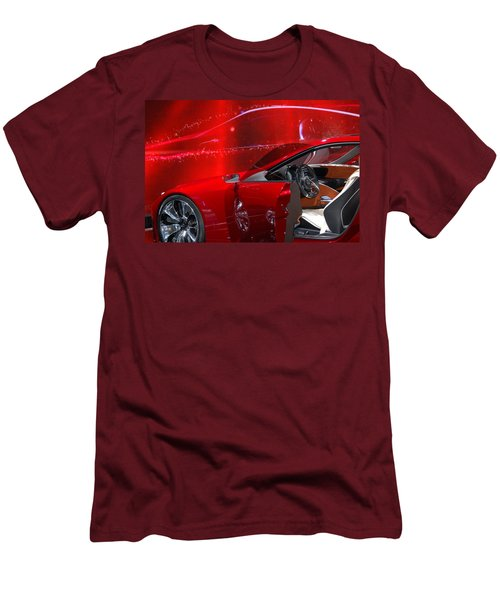 2013 Lexus L F - L C Men's T-Shirt (Slim Fit) by Randy J Heath