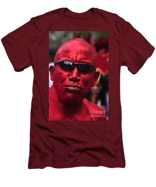 West Indian Day Parade Brooklyn Ny Men's T-Shirt (Athletic Fit)