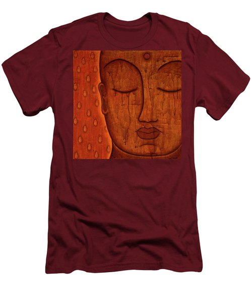 Men's T-Shirt (Slim Fit) featuring the mixed media Awakened Mind by Gloria Rothrock