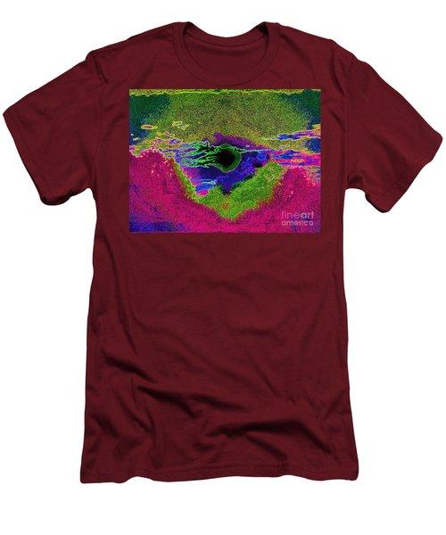 Black Hole Sun Men's T-Shirt (Slim Fit) by Susan Carella
