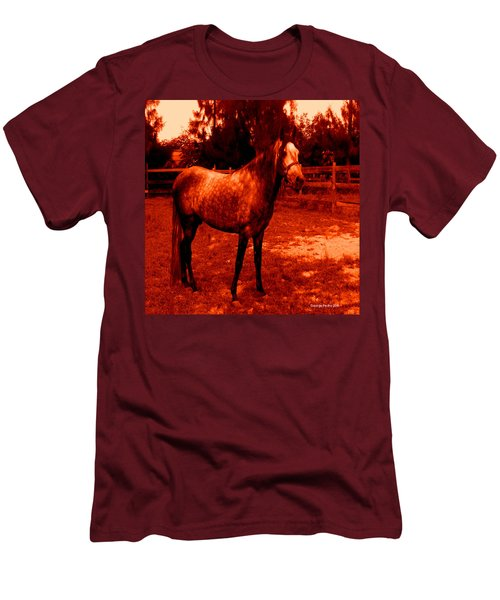 Men's T-Shirt (Slim Fit) featuring the photograph Defiance by George Pedro