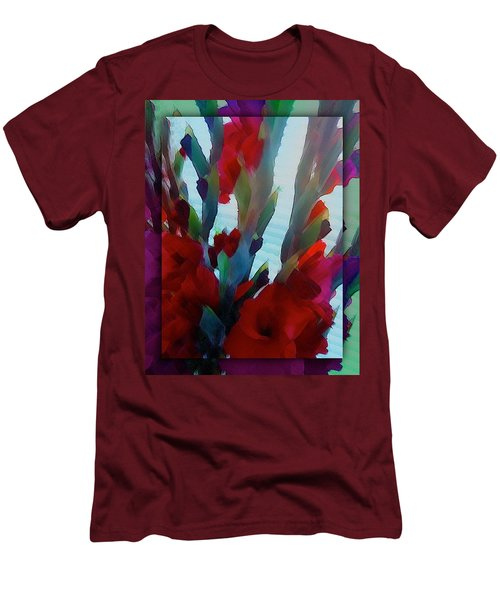 Men's T-Shirt (Slim Fit) featuring the digital art Glad by Richard Laeton