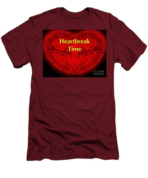 Men's T-Shirt (Slim Fit) featuring the photograph Heartbreak by Blair Stuart