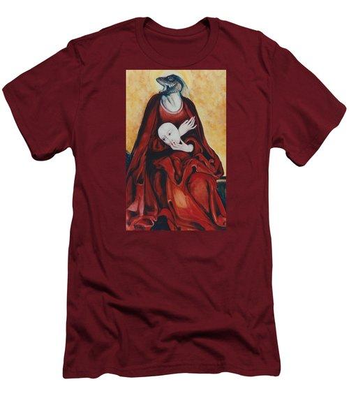 Imitation Of Art Men's T-Shirt (Athletic Fit)