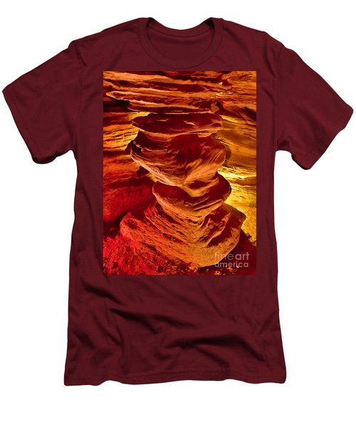 Pillar Of Hercules Men's T-Shirt (Athletic Fit)