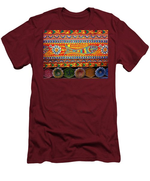Truck Art Detail Men's T-Shirt (Athletic Fit)