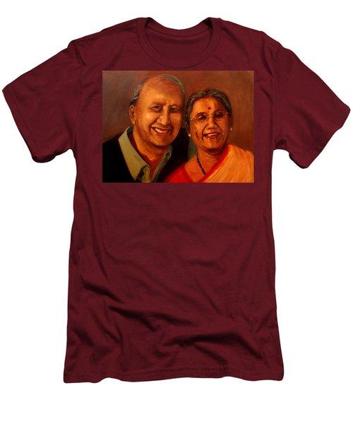 Uncle And Aunt Men's T-Shirt (Athletic Fit)
