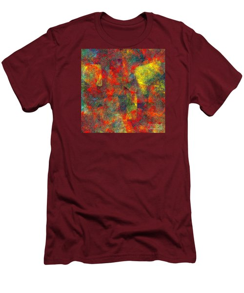 0786 Abstract Thought Men's T-Shirt (Athletic Fit)